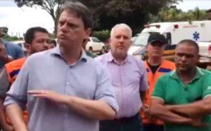 Ministro da infraestrutura Tarcisio Gomes de Freitas